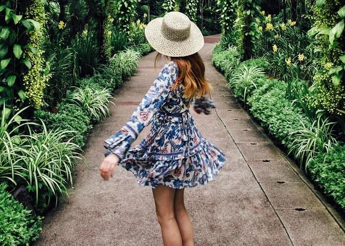 Lạc bước giữa không gian đẹp tựa thiên đường tại công viên Botanic Garden Singapore