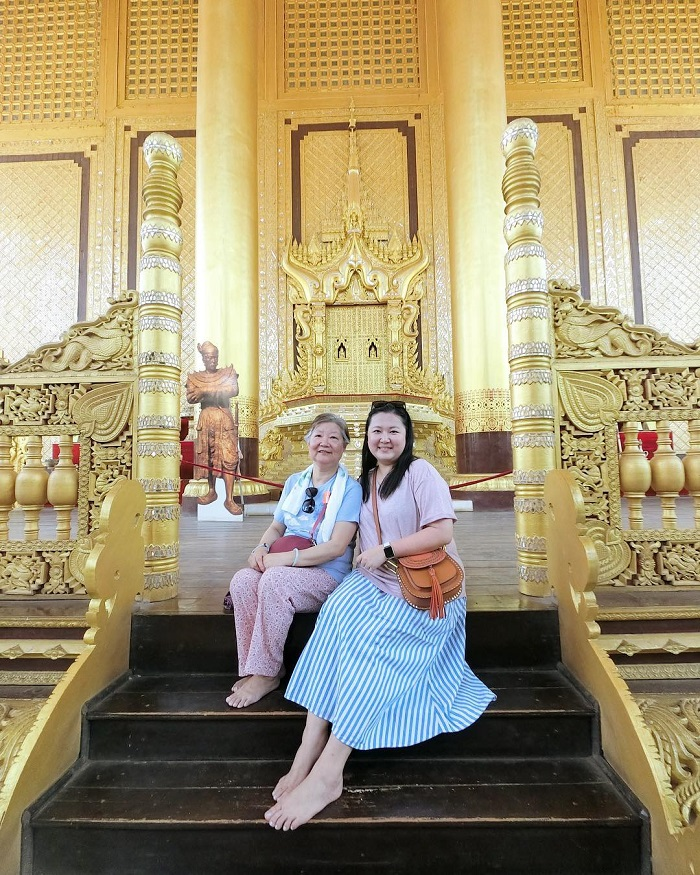 Khám phá cung điện Hoàng Gia Kanbawzathadi