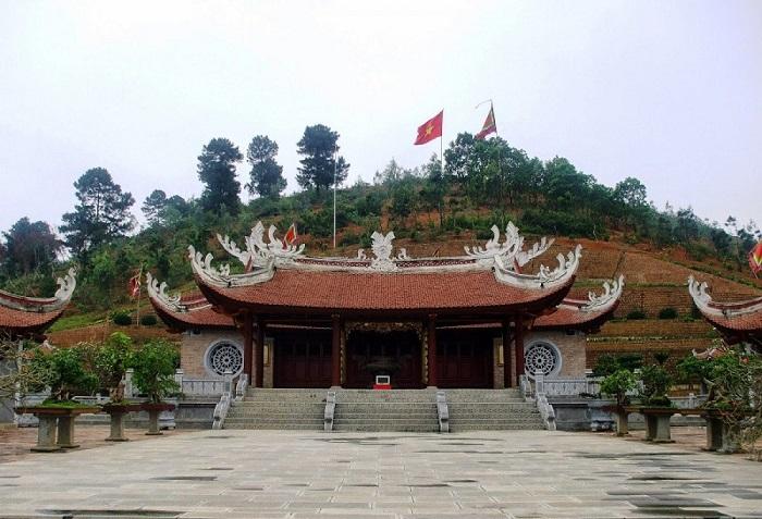 đền Mẫu Âu Cơ Phú Thọ