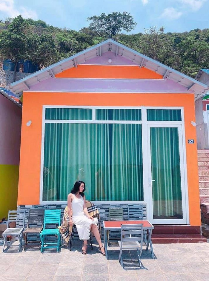 The beautiful homestay in Nam Du you can refer to