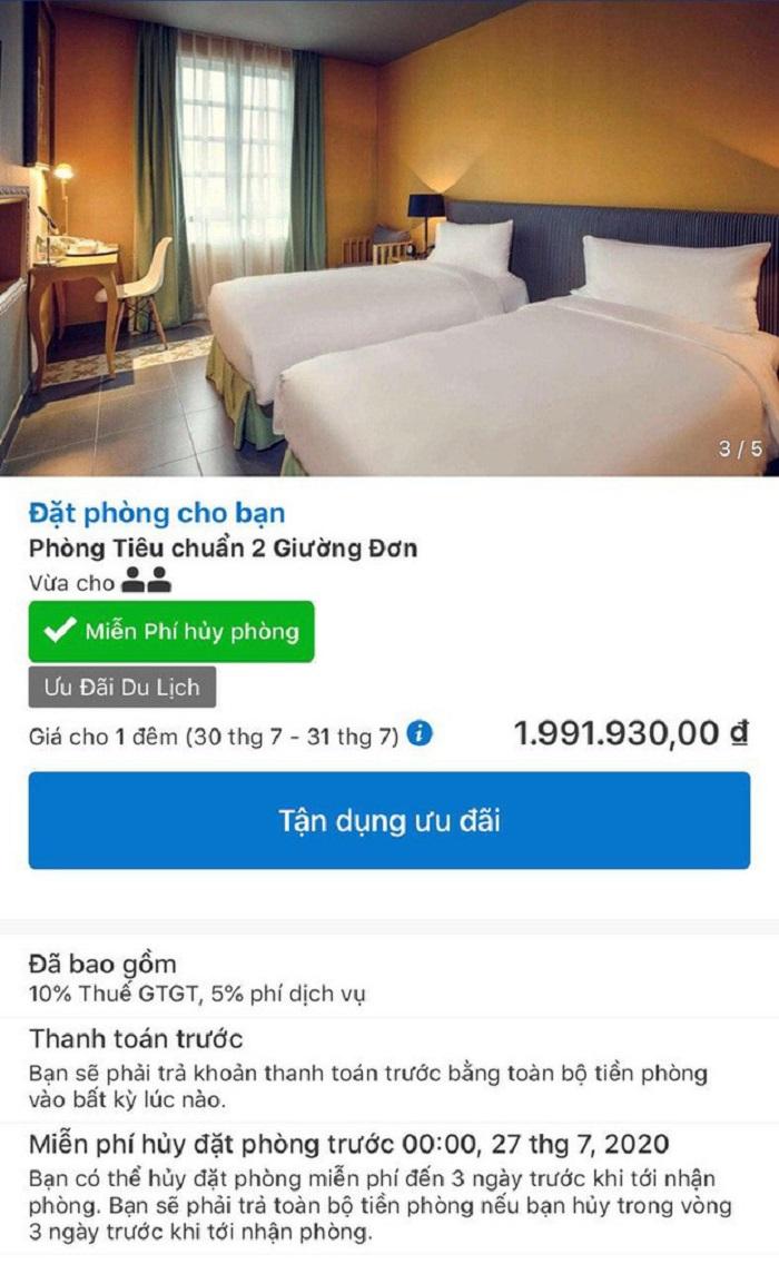 Cách hoàn/hủy phòng khách sạn mà vẫn lấy lại được phí đặt phòng