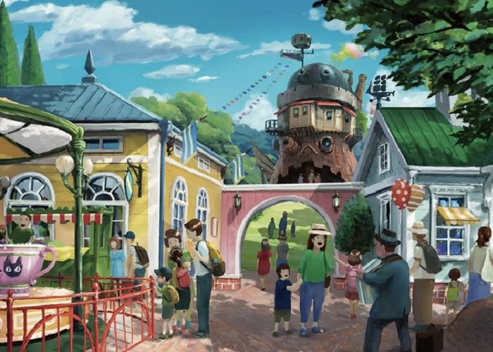 1001 điều thú vị về công viênGhibli Nhật Bảnbạn đã biết chưa?