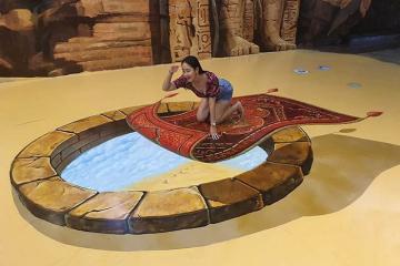 1001 góc sống ảo tại bảo tàng tranh 3D ở Pattaya