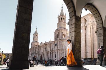 Vẻ đẹp nghìn like của thành phố thuộc địa Arequipa Peru
