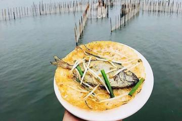 Bánh xèo cá kình làng Chuồn - món ngon xứ Huế độc đáo ở phá Tam Giang
