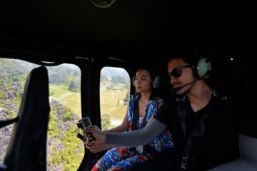 Chuyến trực thăng khám phá Tràng An có gì thú vị?