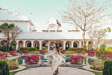 Cung điện Taj Lake - thiên đường giữa hồ Pichola Ấn Độ