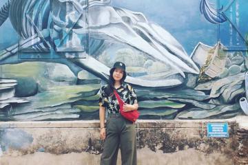Muôn góc sống ảo tại cung đường bích họa Cảnh Dương Quảng Bình