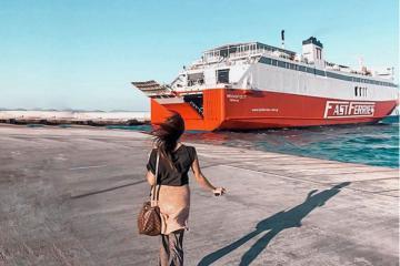 Kinh nghiệm đi phà từ Athens đến Santorini để có trải nghiệm ấn tượng
