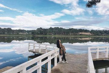 Đắm say với vẻ đẹp lãng mạn của hồ Xuân Hương Đà Lạt