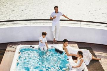 Vi vu du thuyền: Chỉ từ 2tr5 đi tour Hạ Long 2N1Đ nghỉ du thuyền 5* President