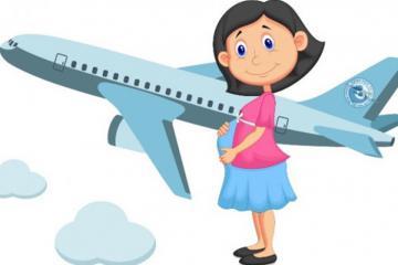Trọn bộ kinh nghiệm đi máy bay khi mang thai an toàn cho mẹ bầu