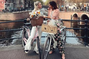 Kinh nghiệm du lịch Amsterdam đi xe đạp dạo phố, ngắm kênh đào lãng mạn