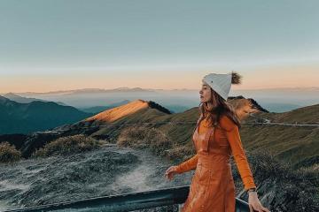 Lạc vào tiên cảnh tại núi Hợp Hoan Đài Trung