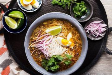 Ngon 'xoắn lưỡi' với những món ăn đường phố nổi tiếng tại Yangon