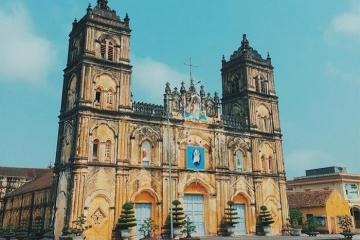 Về Thành Nam nhớ ghé thăm những nhà thờ đẹp ở Nam Định!