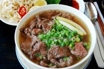 Phở bò Nam Định - đặc sản nổi tiếng 'phủ sóng' trên toàn quốc