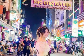 'Quẩy tung' phố đi bộ Bùi Viện siêu HOT ở Sài Thành
