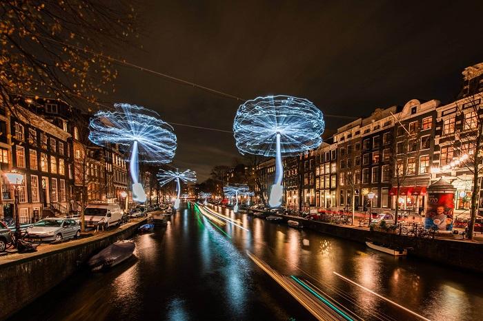 Lễ hội ánh sáng Amsterdam - Lễ hội ánh sáng đẹp nhất thế giới