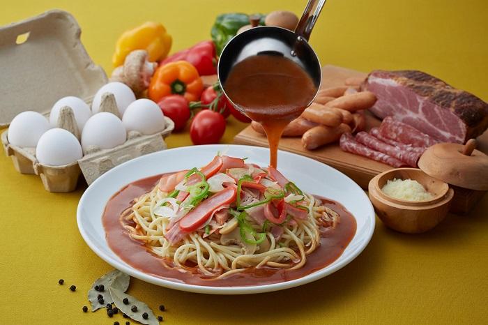 Ankake Spaghetti - Ẩm thực Nagoya