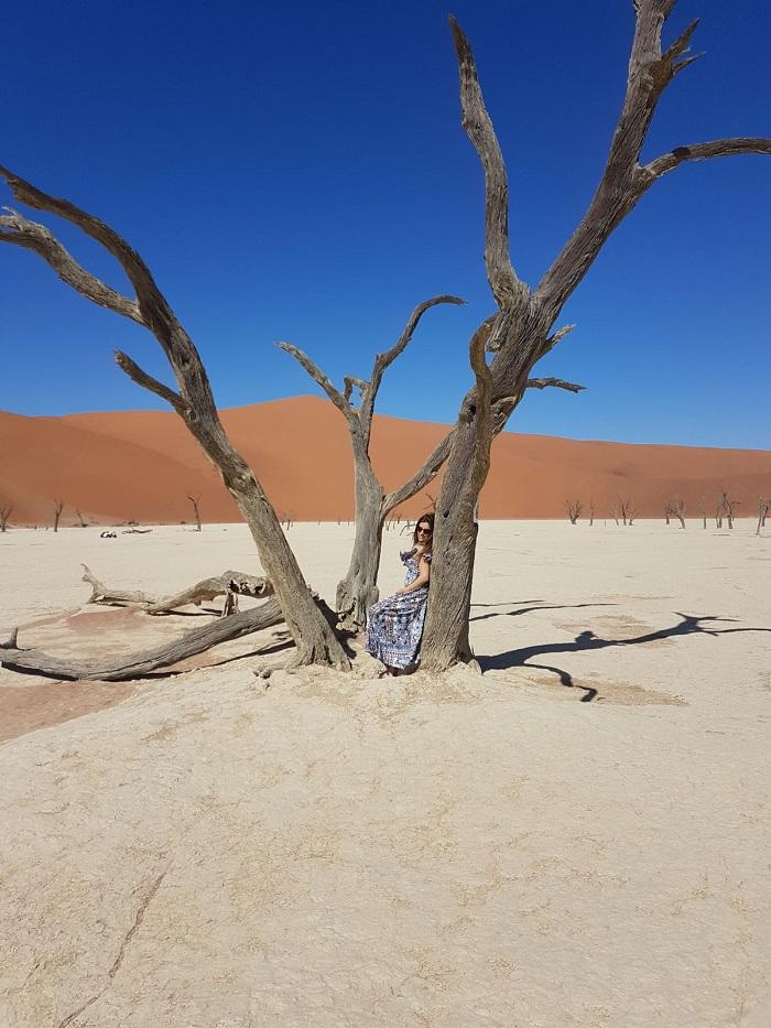 Một số cồn cát cao nhất trên thế giới được tìm thấy ở khu vực Sossusvlei - Sa mạc Namibia
