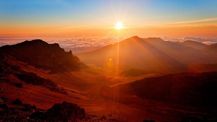 Ngắm bình minh ở Haleakala - Hướng dẫn du lịch đảo Maui