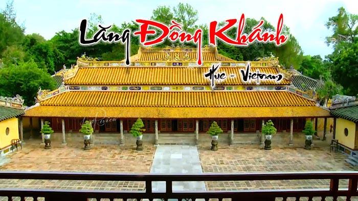 Lăng Đồng Khánh nhà Nguyễn - không quá cô tịch