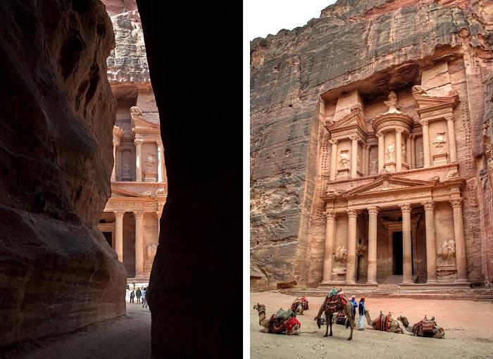 Al-Khazneh - Du lịch Petra Jordan