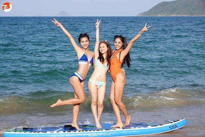 rowing sub at Z Beach Nha Trang