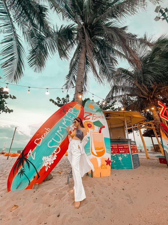 how to get to Z Beach Nha Trang