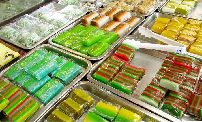 Ăn gì ở Malacca? Bánh Nyonya Kuih - Món ăn vặt ngon ở Malacca