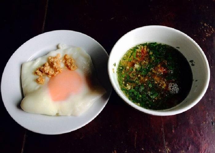 bánh cuốn trứng Lạng Sơn - nổi tiếng ở Lạng Sơn