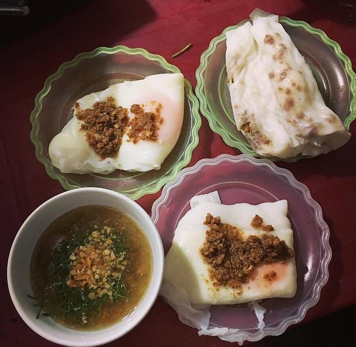 bánh cuốn trứng Lạng Sơn - đặc sản xứ Lạng