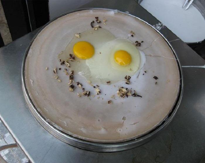bánh cuốn trứng Lạng Sơn - cách chế biến