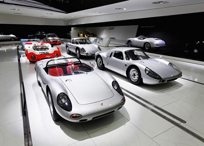 Bảo tàng Porsche- Bảo tàng xe hơi ở Đức nổi tiếng