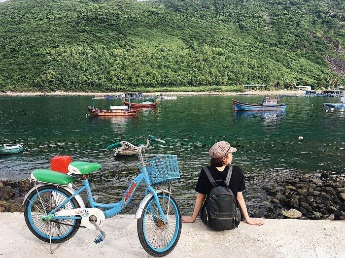 bích đầm làng chài ở Nha Trang đẹp