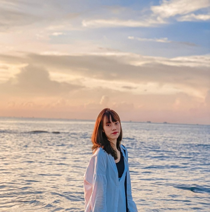 bình minh - khoảnh khắc đẹp trên Bãi biển Đồi Dương
