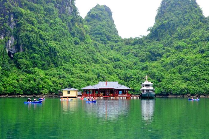 Các làng chài ở Hạ Long - làng chài Ba Hang