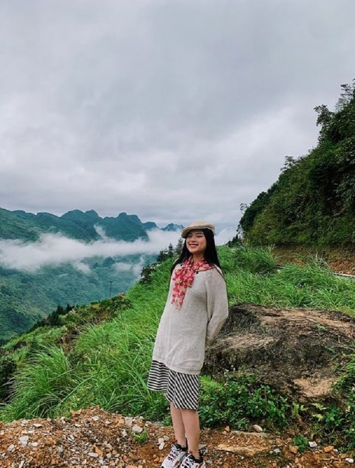 The feeling of hunting clouds on the top of Ma Pi Leng