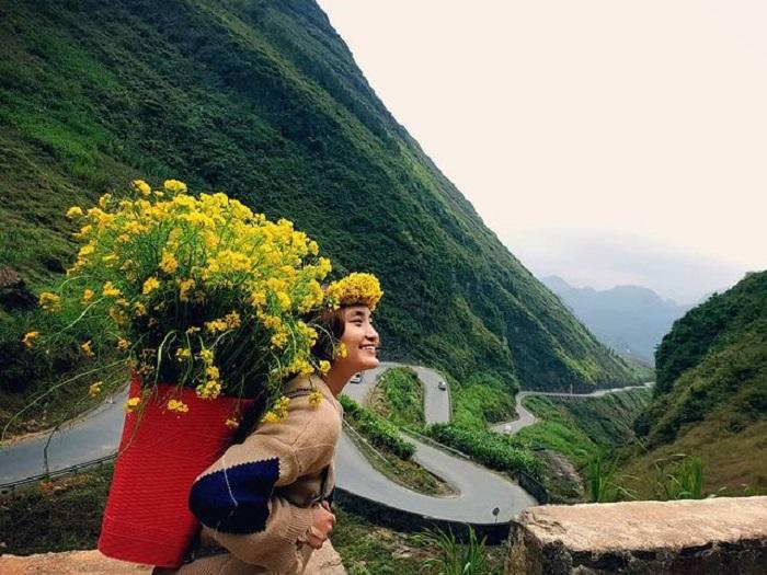 Chin Khoang slope - one of the beautiful passes in Ha Giang
