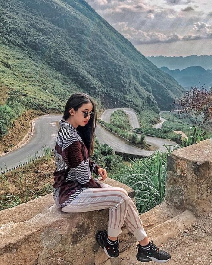 Bac Sum slope - one of the beautiful pass roads in Ha Giang