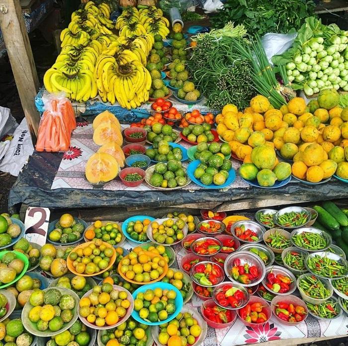 Bạn sẽ tìm thấy nhiều món nông sản như thế này trong chợ - Quần đảo Fiji