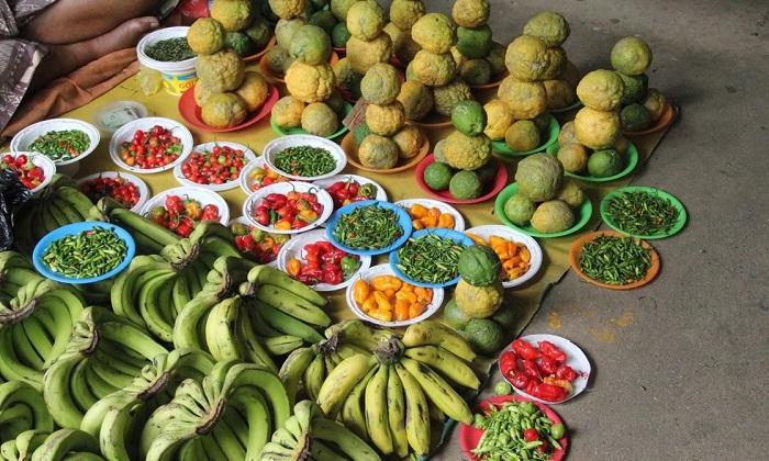 Một khu chợ địa phương - Quần đảo Fiji