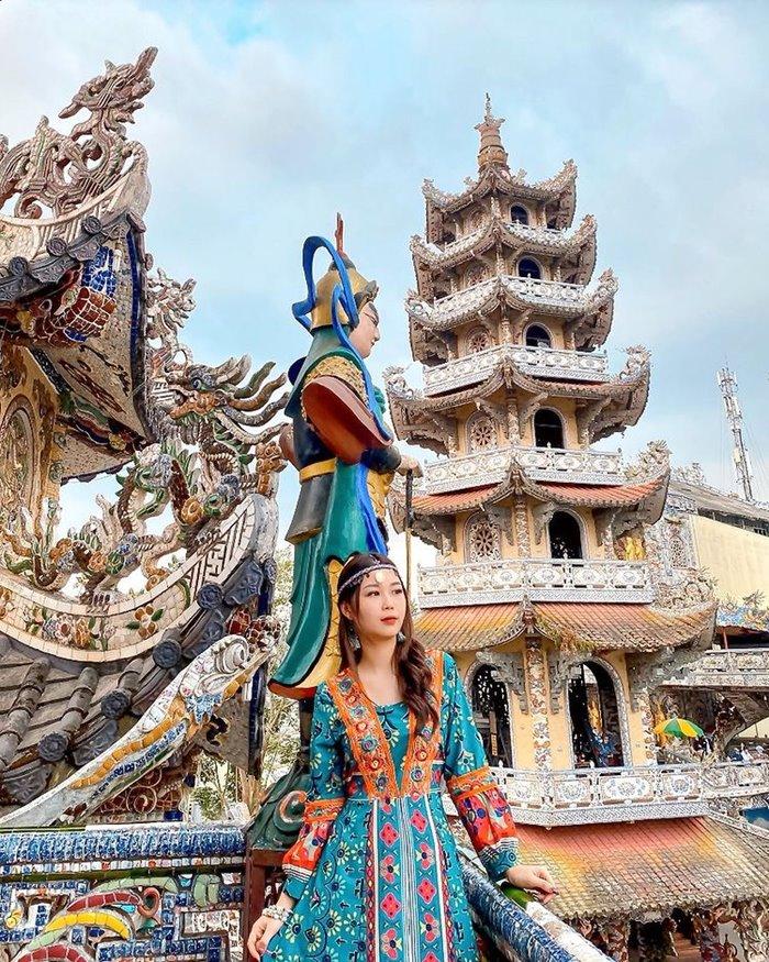 Chùa Linh Phước ngôi chùa đẹp ở Tây Nguyên