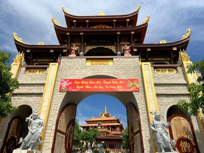 Chùa Thiện Quang - Địa chỉ ngôi chùa ở Phan Thiết nổi tiếng linh thiêng