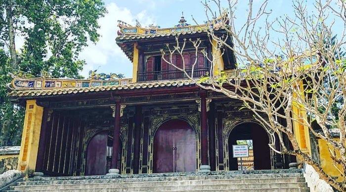 Lăng Đồng Khánh nhà Nguyễn - lối kiến trúc xưa