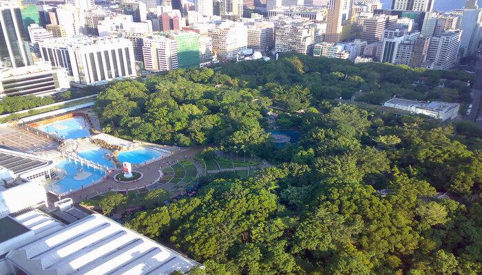 Bể bơi quốc tế - Các trải nghiệm ở công viên Cửu Long Trại Thành
