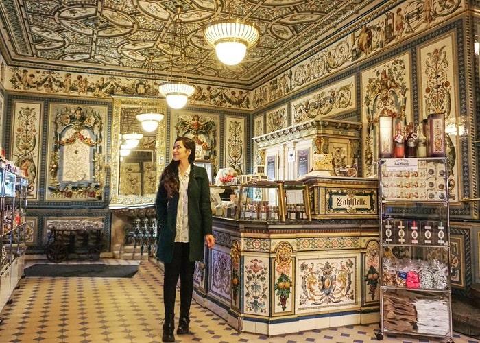 Cửa hàng bán đồ lưu niệm ở Dresden nổi tiếng rẻ, chất lượng