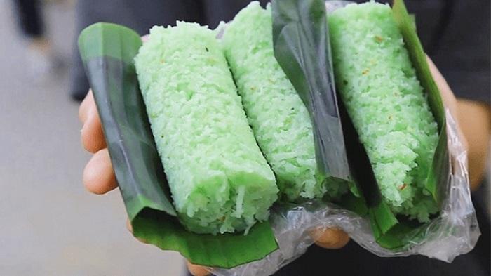 Đặc sản Kiên Giang làm quà - bánh ống lá dứa