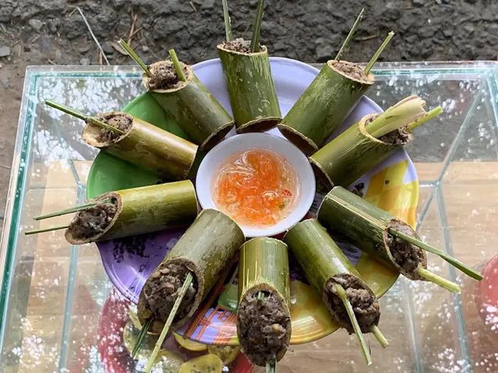Visit Bamboo Garden eco-tourism area - stuffed bamboo snail